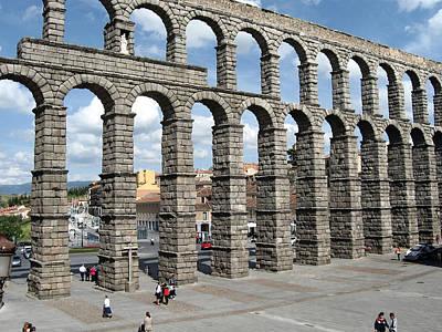 Roman Aqueduct IIi Art Print