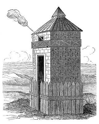 Roman Beacon Tower Art Print