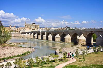 Medieval Temple Photograph - Roman Bridge In Cordoba by Artur Bogacki