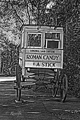 Photograph - Roman Candy Man by Cheri Randolph