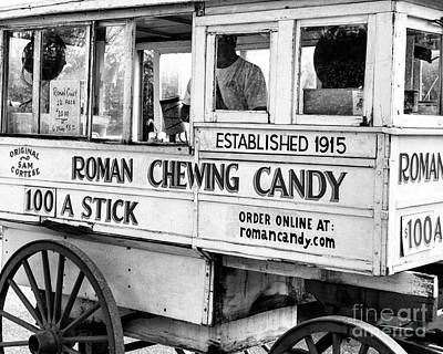 Roman Candy Cart Photograph - Roman Candy Nola by Kathleen K Parker