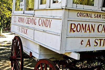 Roman Candy Cart Photograph - Roman Chewing Candy by Scott Pellegrin