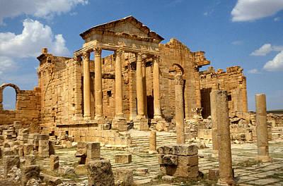 Roman City Of Sbeitla, Tunisia Photo Art Print