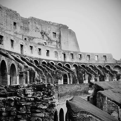 Photograph - Roman Colosseum by Richelle Munzon