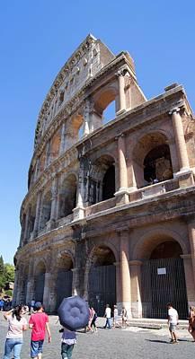 Roman Colosseum Wall. Print by Mark Williamson