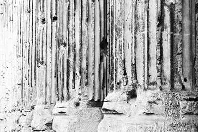 Photograph - Roman Columns by Susan Schmitz