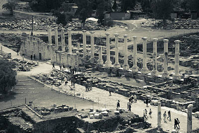 Roman Ruins Photograph - Roman-era Ruins, Beit She-an National by Panoramic Images