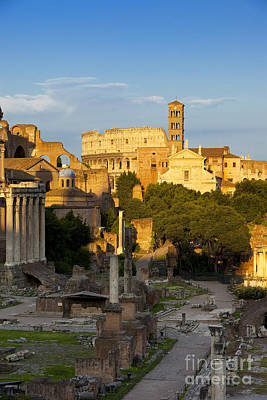 Photograph - Roman Forum by Brian Jannsen