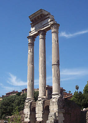 Photograph - Roman Forum by David Nichols