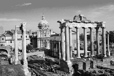 Photograph - Roman Forum by Eva Kaufman