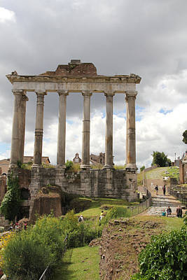 Photograph - Roman Forum by Nancy Ingersoll