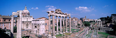 Republican Photograph - Roman Forum, Rome, Italy by Panoramic Images
