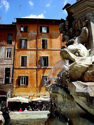 Photograph - Roman Fountain  by Natalya Karavay
