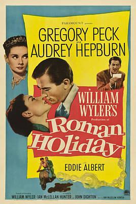 Photograph - Roman Holiday - 1953 by Georgia Fowler
