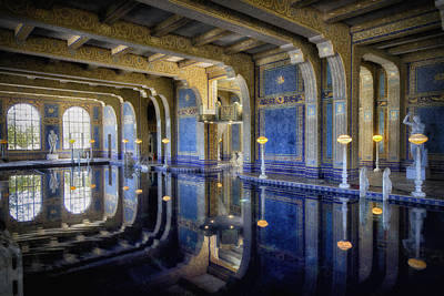 Photograph - Roman Pool At Hearst Castle by Robert Woodward