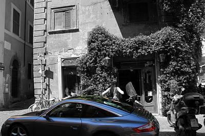Photograph - Roman Porsche by Andrew Fare