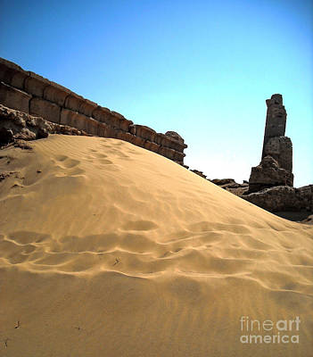 Egypt Photograph - Roman Sand by Kayne  Johnson