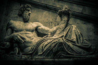 Photograph - Roman Sculpture by Matthew Onheiber