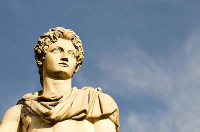 Capitoline Photograph - Roman Statue by Fabrizio Troiani