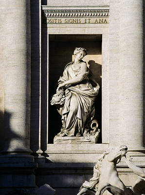 Photograph - Roman Statue by Mark Greenberg