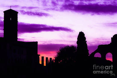 Photograph - Roman Sunrise by Prints of Italy