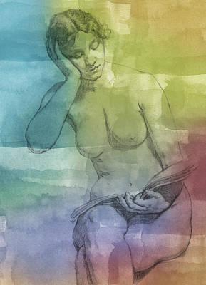 Nudes Royalty-Free and Rights-Managed Images - Romance by Aged Pixel