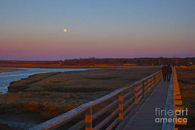 Photograph - Romance At Grays Beach Boardwalk by Amazing Jules