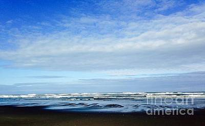 Photograph - Blue At The Coast by LeLa Becker