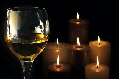 Wine Cellar Photograph - Romance by Daniel Hagerman