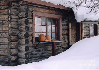 Photograph - October Snow by Jeffrey Akerson