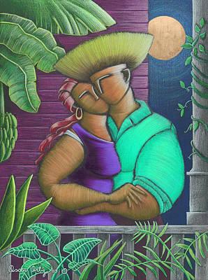Painting - Romance Jibaro by Oscar Ortiz