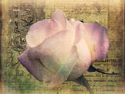 Romance Of The Rose Print by Shirley Sirois