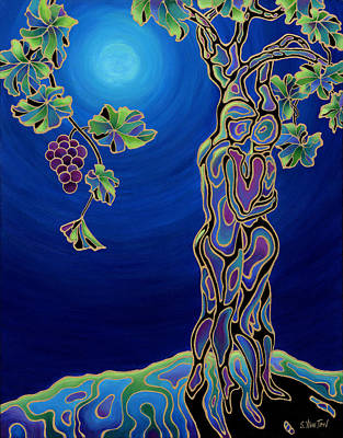 Painting - Romance On The Vine by Sandi Whetzel