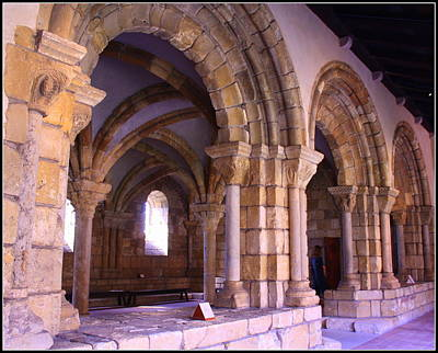 Romanesque Hall At The Cloisters New York Original