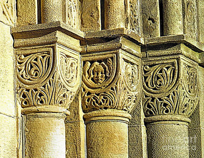 Photograph - Romanesque Style by Janice Drew