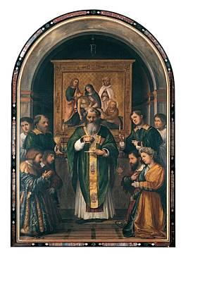 Romani Girolamo Known As Romanino, The Art Print by Everett