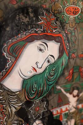 Romania, Transylvania, Sibiel, Glass Art Print by Walter Bibikow