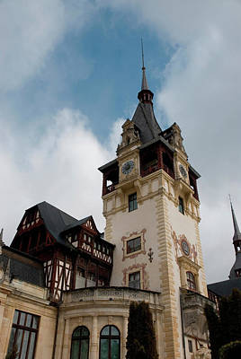 Pele Photograph - Romania Transylvania Sinaia Peles Castle by Inger Hogstrom