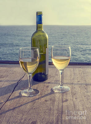 Photograph - Romantic Drinks by Patricia Hofmeester