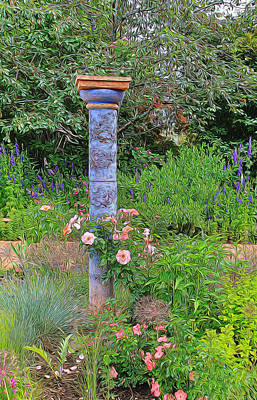 Photograph - Romantic Garden 2 by Diane Alexander