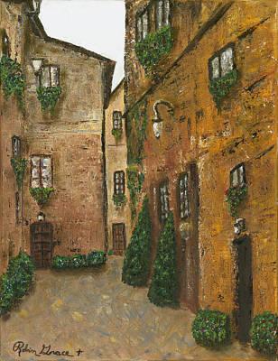 Romantic Italy Original by Robin Grace