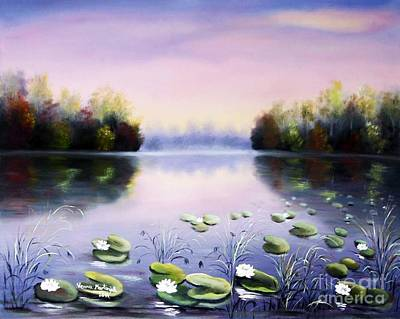 Painting - Romantic Lake by Vesna Martinjak