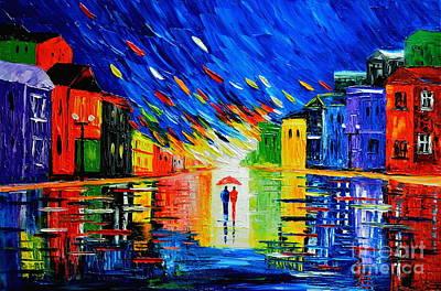 Painting - Romantic Love by Mariana Stauffer