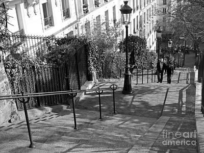 Sacre Coeur Photograph - Romantic Montmartre by Alex Cassels
