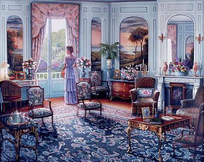 Painting - Romantic Reminiscenc Copy by John P. O'brien