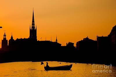 Photograph - Romantic Stockholm by Michal Bednarek