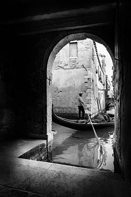 Venice Photograph - Romantic Venice! by Fernando Jorge Gon?alves