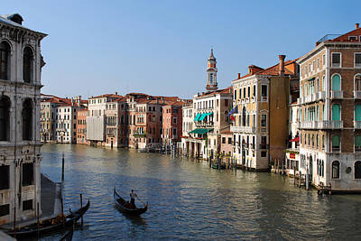 Romantic Venice Art Print by Terence Davis