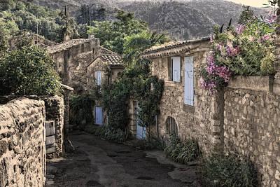 romantical Provence Art Print