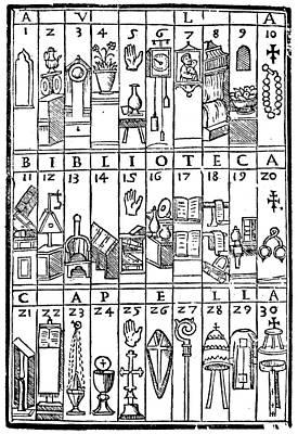 Romberch Memory, 1553 Art Print by Granger